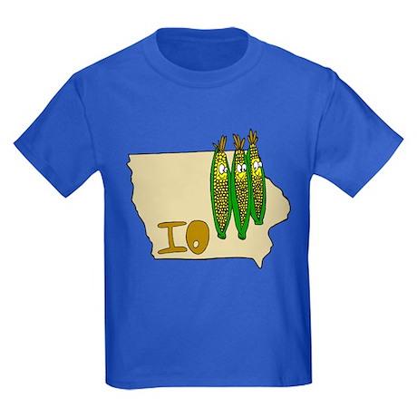 Iowa Pride! Kids Dark T-Shirt