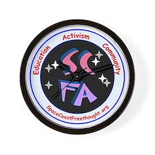 SCFA Logo Wall Clock
