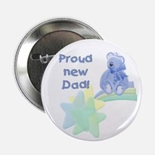 Proud New Dad Button
