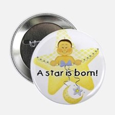 A Star is Born Asian Baby Button