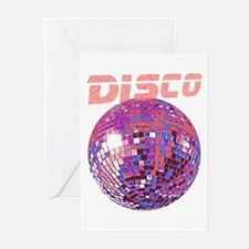 Pink Disco Ball Greeting Cards (Pk of 10)