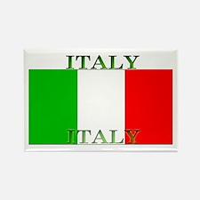 Italy Italian Flag Rectangle Magnet (100 pack)