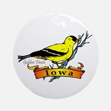 Iowa Pride! Ornament (Round)