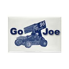 blue Go Joe Rectangle Magnet