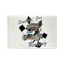96 Smokin' Joe Racing Rectangle Magnet