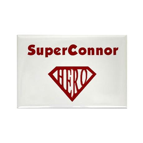 Super Hero Connor Rectangle Magnet