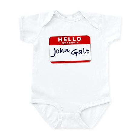 My Name is John Galt Infant Bodysuit