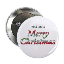 "Merry Christmas 2.25"" Button (100 pk)"