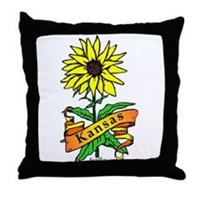 Kansas Pride! Throw Pillow