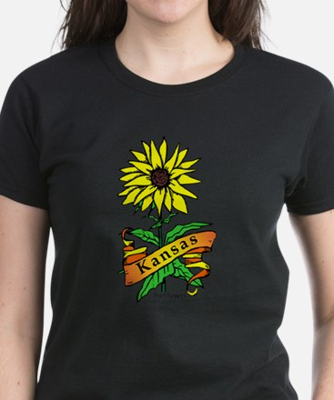 Kansas Pride! Women's Dark T-Shirt