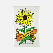Kansas Pride! Rectangle Magnet