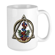 Dentistry Caduceus Ceramic Mugs