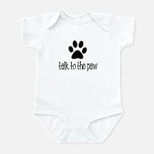 Talk to the Paw Infant Bodysuit