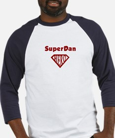 Super Hero Dan Baseball Jersey