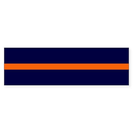 Auburn Thin Orange Line Bumper Sticker (10 pk)