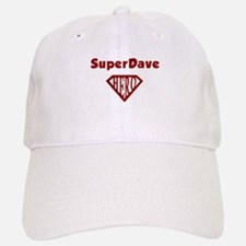 Super Hero Dave Baseball Baseball Cap