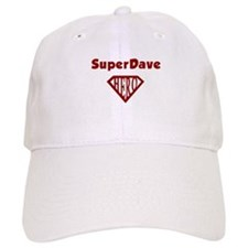 Super Hero Dave Baseball Cap