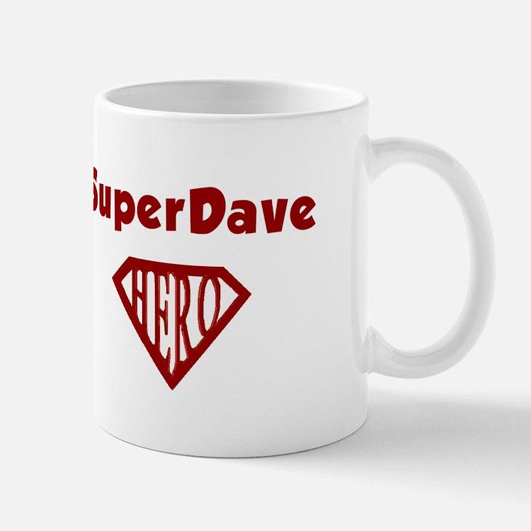 Super Hero Dave Mug