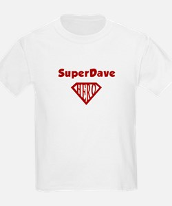 Super Hero Dave T-Shirt