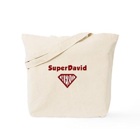 Super Hero David Tote Bag