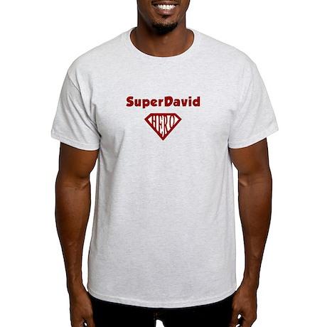Super Hero David Light T-Shirt