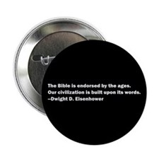 "Eisenhower Quote 2.25"" Button (10 pack)"