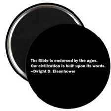 """Eisenhower Quote 2.25"""" Magnet (100 pack)"""