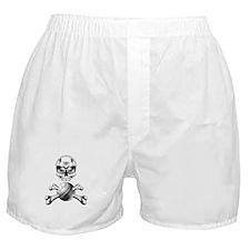 Volleyball Skull Boxer Shorts