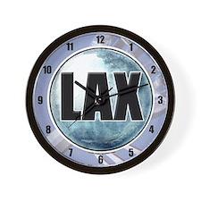 LAX Wall Clock