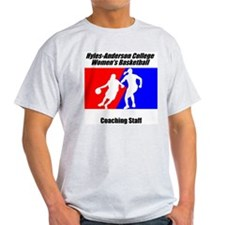 HAC Woman's Basketball Coachi Ash Grey T-Shirt