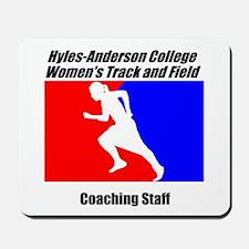 HAC Woman's Track/Field Coach Mousepad