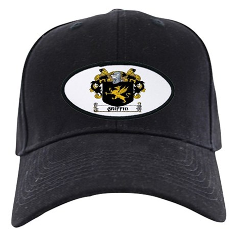 Griffin Coat of Arms Black Cap