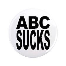 "ABC Sucks 3.5"" Button"