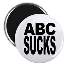 ABC Sucks Magnet