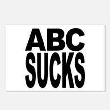 ABC Sucks Postcards (Package of 8)