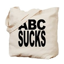 ABC Sucks Tote Bag