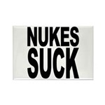 Nukes Suck Rectangle Magnet (100 pack)