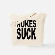 Nukes Suck Tote Bag
