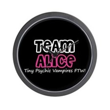 Team Alice Twilight Wall Clock