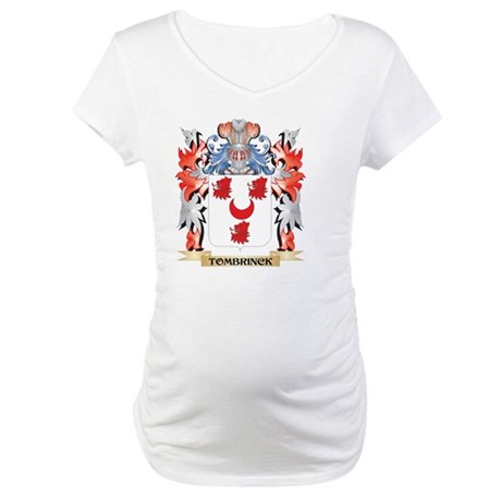Tombrinck Coat of Arms - Family Maternity T-Shirt