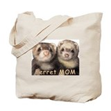 Mom ferret Canvas Bags