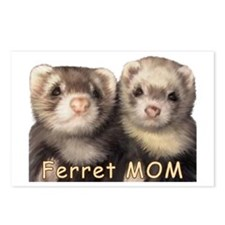 Ferret MOM Postcards (Package of 8)