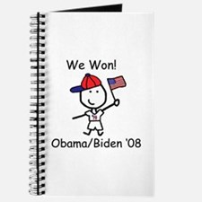 Obama - We Won Journal