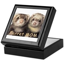 Ferret MOM Keepsake Box