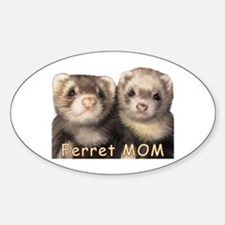 Ferret MOM Oval Decal