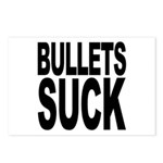 Bullets Suck Postcards (Package of 8)