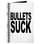 Bullets Suck Journal