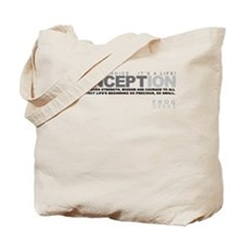 Life Begins at Conception! Tote Bag