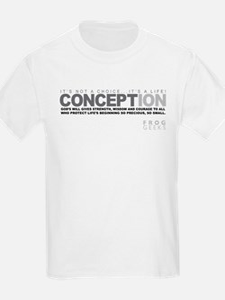 Life Begins at Conception! T-Shirt