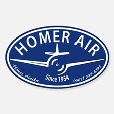Homer Air Oval Decal